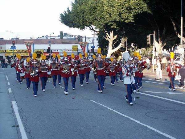 Last drum cadence before the halt!